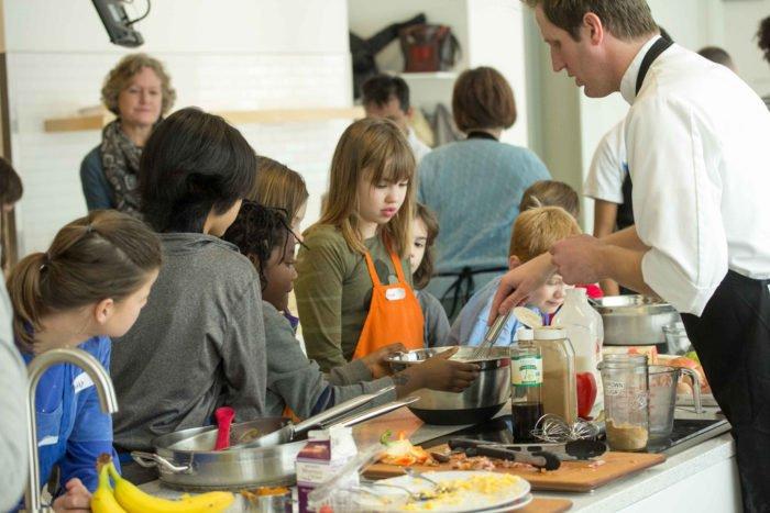 La cuisine éveille les sens des enfants