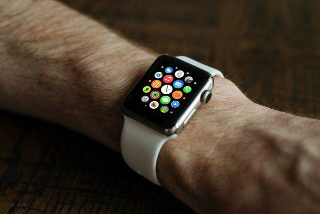 pile montre connectée